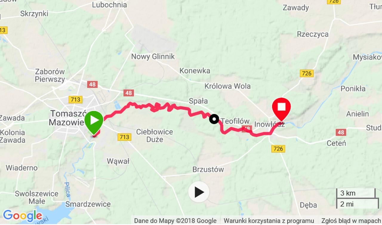 kajaki w okolicach Warszawy