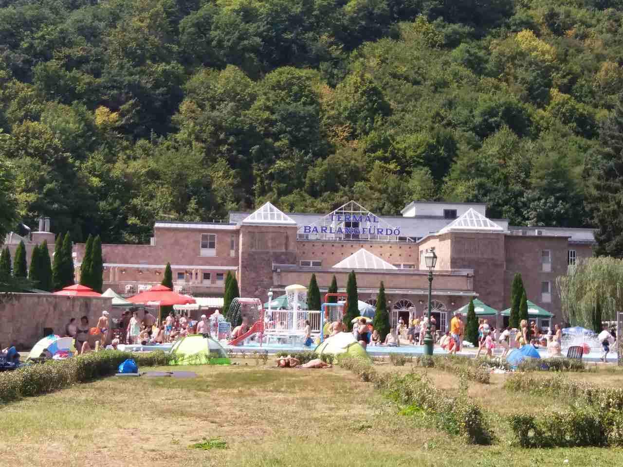 baseny termalne na Węgrzech