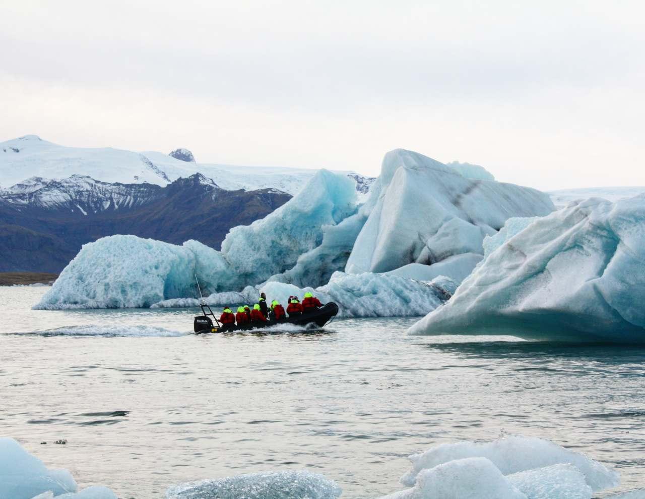laguna lodowa Jokulsarlon
