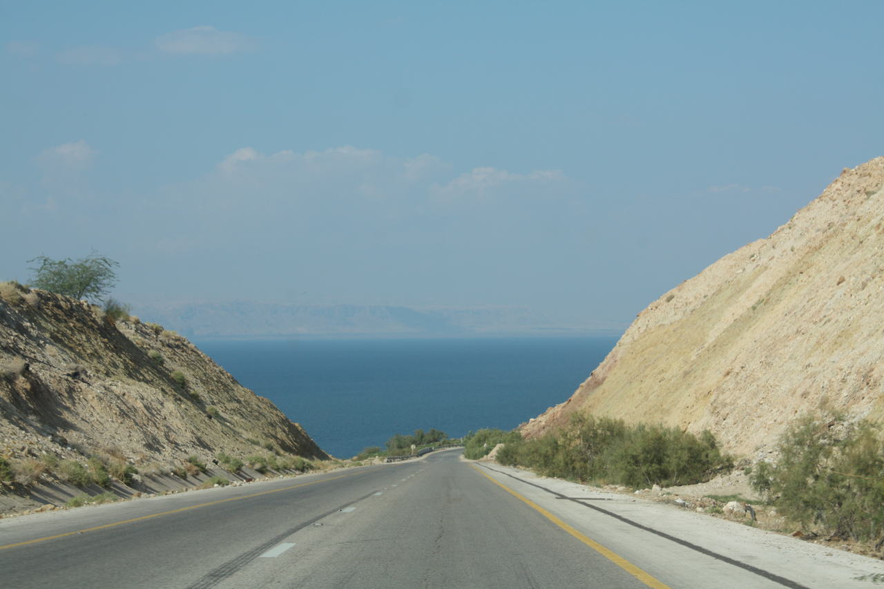 Morze Martwe w Jordanii
