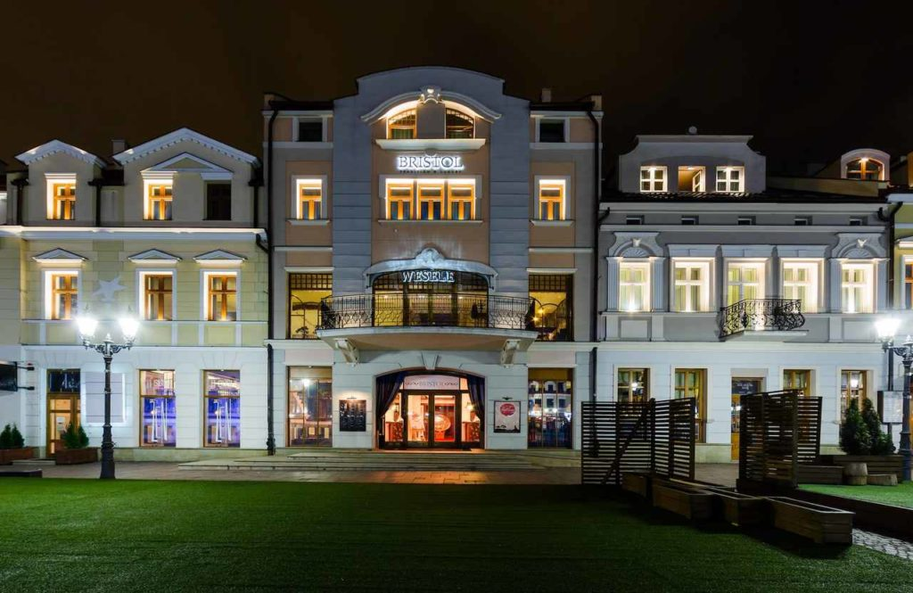 hotel Bristol w Rzeszowie